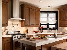 Cherry Glaze Cabinets Maple Glaze Cabinets Kitchen Kitchen Decoration