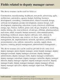 Entry Level Interior Design Resume Top 8 Deputy Manager Resume Samples