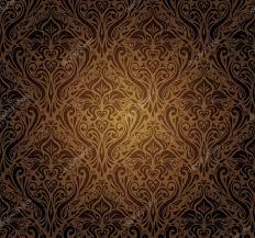 dark vintage wallpaper dark brown vintage wallpaper design stock vector erinvilar 23884659