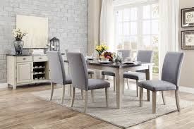 Marble Top Dining Room Table by Homelegance Mendel Dining Set Bluestone Marble Top Grey D5280