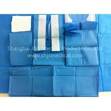 Surgical Gowns And Drapes Surgical Packs With Surgical Gowns And Drapes