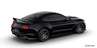 Shelby Mustang Black 2016 Shelby Mustang Gt350