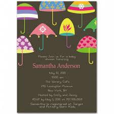 umbrella baby shower western umbrella baby shower invitation bs030