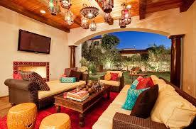 Emejing Moroccan Decorating Contemporary Home Design Ideas - Moroccan living room set