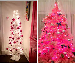 christmas 91 pink christmas tree photo inspirations miniature