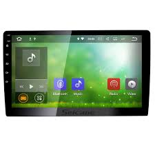 inch hd 1024 600 rotatable touchscreen android 7 1 2 din universal