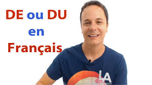 Business Email In French by French Grammar De Or Du In French Youtube