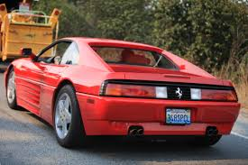 ferrari tail lights ferrari 348 speciale on hwy 1 2 madwhips