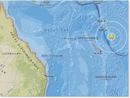 powerful 6 4 magnitude earthquake hits island in vanuatu