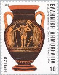 Greek Black Figure Vase Painting Ancient Greek Pottery Painters