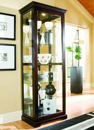 Antique Corner Cabinets Curio Cabinet Antique Corner Curio Cabinet Cortland Oak Bowed