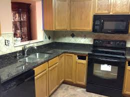 Blue Countertop Kitchen Ideas Kitchen Room 2017 White Stain Wall White Stain Wooden Kitchen
