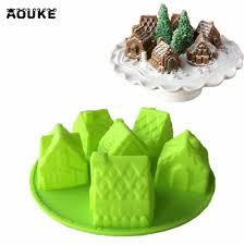 chambre p biscuit chambre maison fondant gâteau de silicone moule chocolat