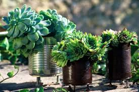 Creative Vases Ideas 20 Tin Can Craft Ideas Flower Vases And Plant Pots