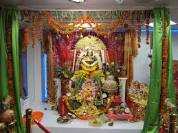home decoration of ganesh festival kalabharathi usa