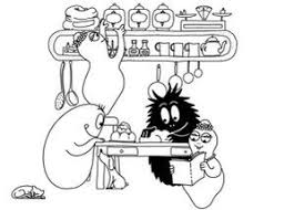 cuisine barbapapa coloriages barbapapa coloriages barbapapa image de barbapapa a