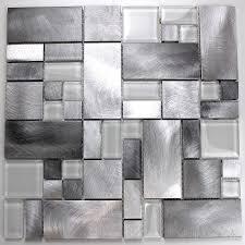 Credence Autocollante Cuisine Mosaique Carrelage Aluminium Mur Et Sol Aspen 14 10 U20ac Https Www
