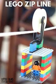 How To Build A Backyard Zip Line by Lego Zip Line Activity And Kid U0027s Stem Challenge