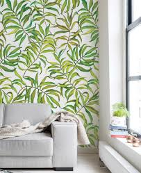 tropical leaves wallpaper large peel and stick peel and stick tropical leaves wallpaper