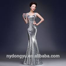 fancy maxi dresses silver fancy evening dress party dress wedding dress yf sky