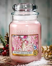 yankee snowflake cookie large candle jar oxendales