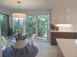 mid century modern walnut kitchen cabinets this mid century modern ikea kitchen will take your breath away