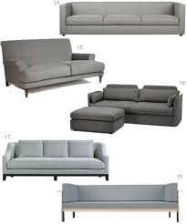 Grey Modern Sofa by 22 Modern Gray Sofas