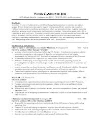 Receptionist Cv Example Personal Assistant Duties For Resume Resume For Your Job Application