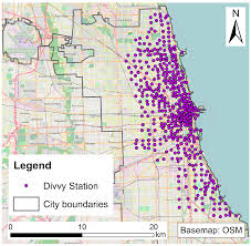Divvy Map Chicago Sustainability Free Full Text Investigating Impacts Of
