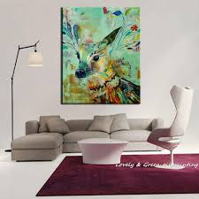 Sheep Home Decor Christmas Gift Handpainted Fellow Sheep Oil Paintings On Canvas