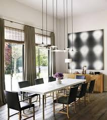 contemporary lighting dining room
