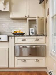 kitchen appliance storage cabinet small appliance storage houzz
