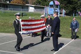 Flag Folding Ceremony Patriotism Abounds At Decommissioning Ceremony For Former Military