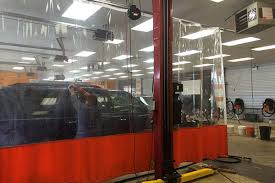 Car Interior Curtains Randall Industrial Curtains Are Working At The Car Wash And