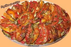 recette de cuisine provencale recette tian provençal papillon en cuisine