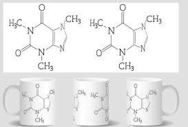 becher k che chemie becher koffein molekül kaffeetasse wissenschaft tassen