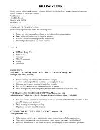 Sample Resume Objectives For Medical Billing by Sample Accounting Clerk Resume Resume Cv Cover Letter Examples Of