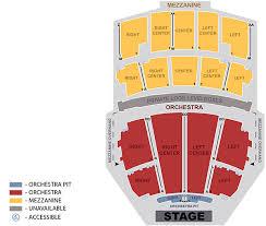 opera house floor plan seating map peabody opera house