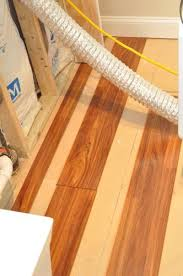 Floating Floor In Basement - how to install a floating laminate floor one project closer