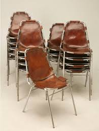 know the real story behind the les arcs leather sling chair stool