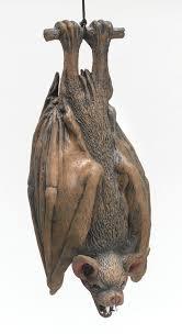 make your own shrunken heads like this item halloween bat