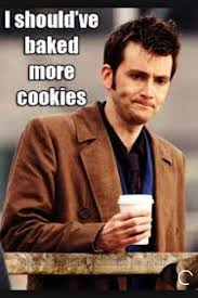 10th Doctor Meme - david and hes cookies doctor who amino