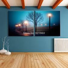 popular led canvas landscape buy cheap led canvas landscape lots