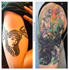 beautiful cover up tattoo by christina from zulu tattoo los