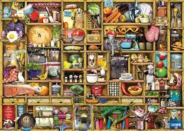 ravensburger the curious cupboard the kitchen cupboard jigsaw