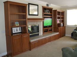 custom wall unit with bookshelves in anaheim hills cabinet
