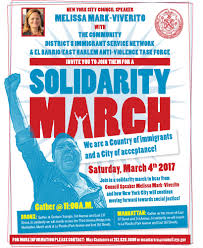 solidarity march lsa family health service