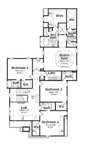 What Is Wic In Floor Plan Traditional Style House Plan 5 Beds 5 Baths 4407 Sq Ft Plan 419
