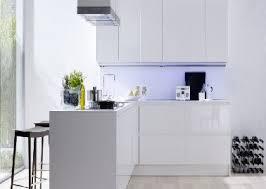 cuisine blanche laqué cuisine blanc laque et gris meilleur idées de conception de