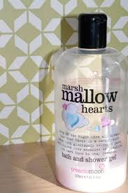 little fickle treaclemoon marshmallow hearts bath and shower gel